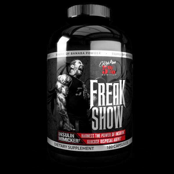 Rich Piana 5% Nutrition Freak Show 180 Kapseln - Nutrient Partitioner