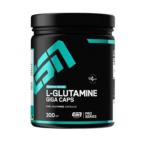 ESN Glutamine Giga Caps - 300 Kapseln