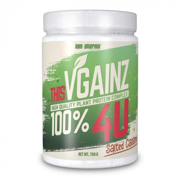 BPS Pharma Vgainz 4U (Vegan Protein) 750g