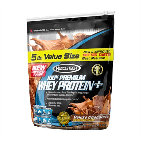 MuscleTech 100% Premium Whey Protein+ 2270g