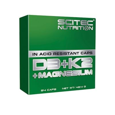 Scitec D3 + K2 + Magnesium - 54 Kapsel