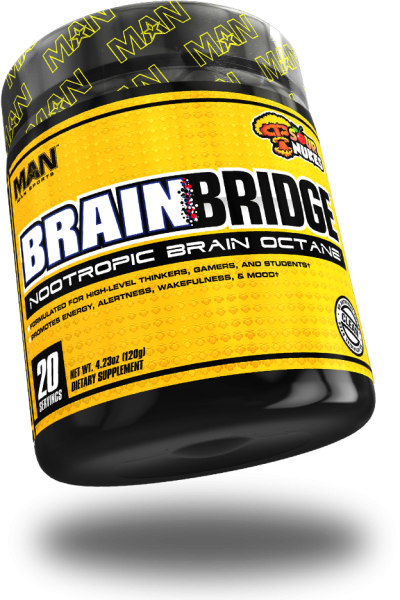 MAN Sports Brainbridge 120g - 20 Servings Sour Nukes