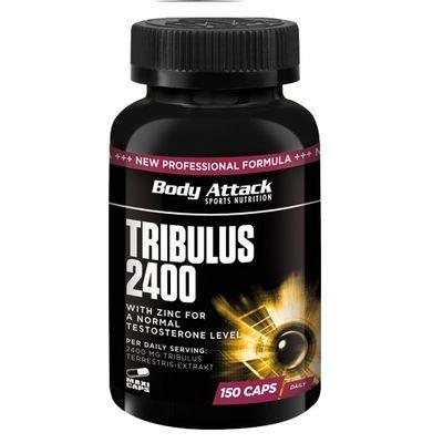 Body Attack Tribulus 2400 150 Kapseln