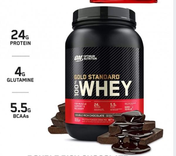 Optimum Nutrition 100% Whey Protein Gold Standard 908g 2lb