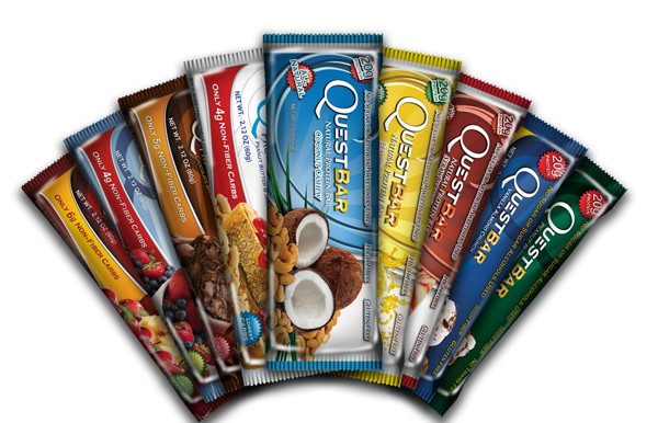 Quest Nutrition Quest Bars - 12 Riegel á 60g