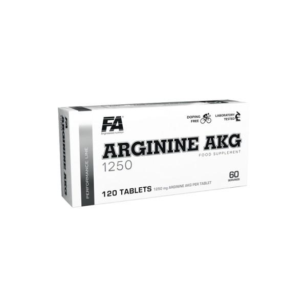 FA Performance ARGININE AKG 1250 - 120 Tabletten AAKG