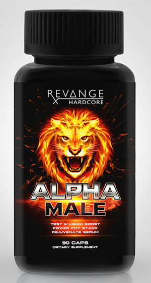 Revange Nutrition Alpha Male 90 Kapseln - u.a Laxogenin + Epicatechin
