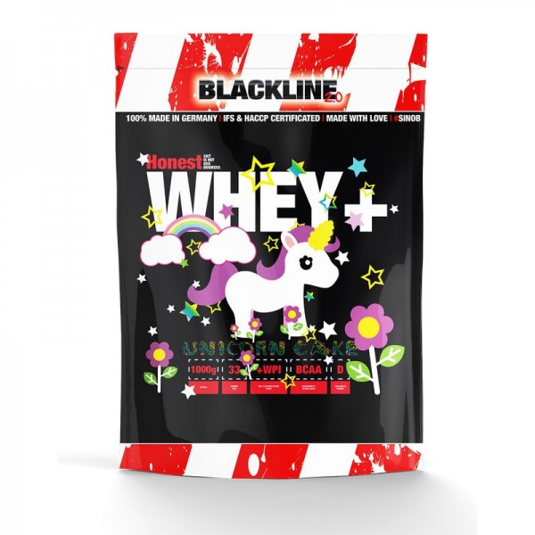 Blackline 2.0 Honest Whey+ 1000g - Protein Made in Germany