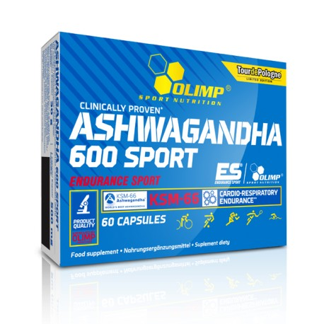 Olimp Ashwaganda 600 - 60 Kapseln