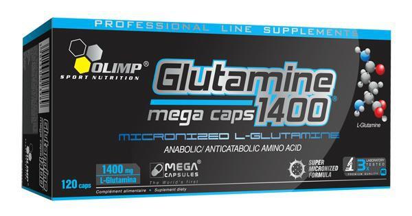 Olimp Glutamine 1400 Mega Caps 120 Kapseln