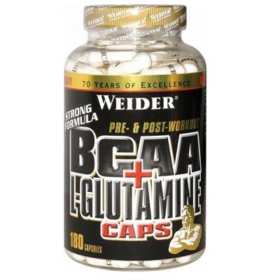Weider BCAA + Glutamin 180 Kapseln