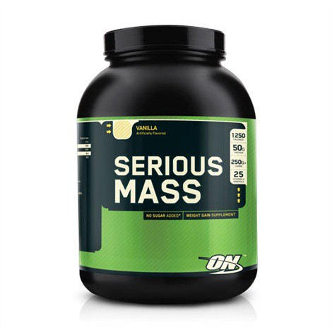 Optimum Nutrition Serious Mass Weight Gainer 2720g