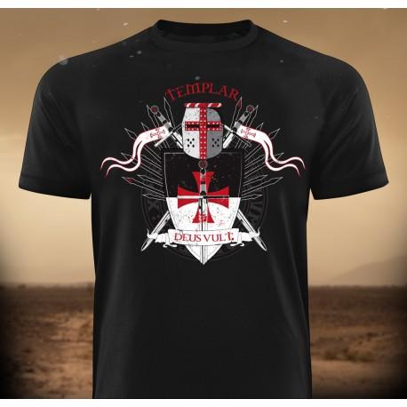 Templar DEUS VULT T-Shirt - Gods Rage