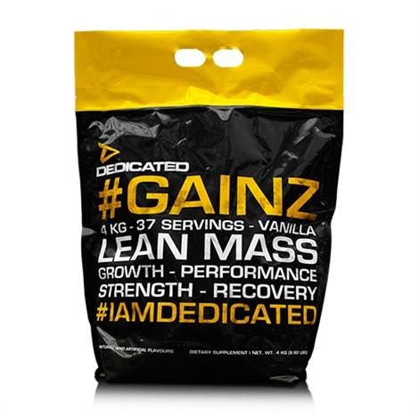 Dedicated Nutrition #GAINZ 4000g - 4kg WEIGHT GAINER