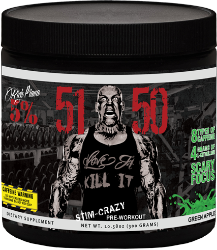 5% Nutrition 5150 300g - stim junkie's dream pre-workout