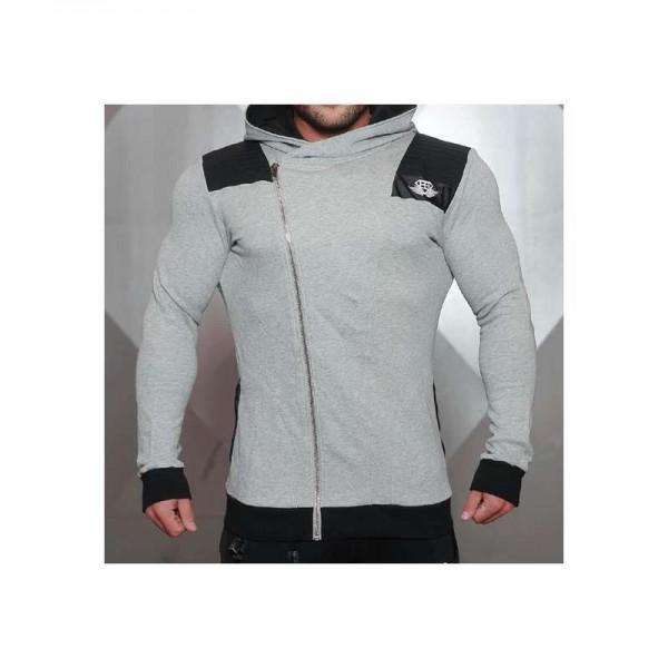 Body Engineers YUREI vest – LIGHT GREY & BLACK ACCENTS