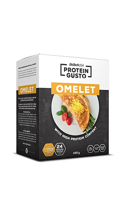 Biotech USA Protein Gusto - Omelet Cheese 480g
