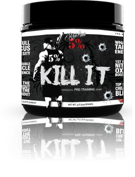 5% Nutrition KILL IT 315g 30 Servings