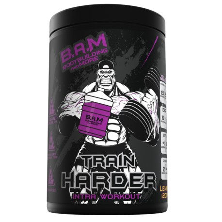 B.A.M Train Harder 1200g - INTRA WORKOUT
