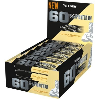 Weider 60% Protein Bar 24x45g Protein Riegel