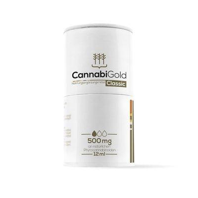 CannabiGold Classic 12ml 500mg CBD Öl
