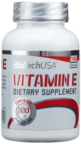 Biotech USA Vitamin E 100 Kapseln