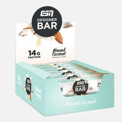 ESN Tasty Designer Bar 12x45g Protein Riegel