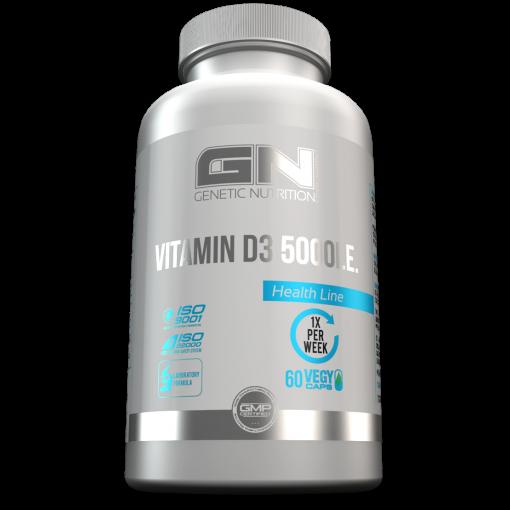 GN Laboratories Vitamin D3 5000I.E. 60 Kapseln