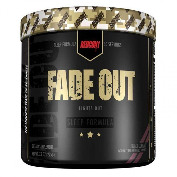 Redcon1 FADE OUT 225g (30Servings)- SLEEP FORMULA