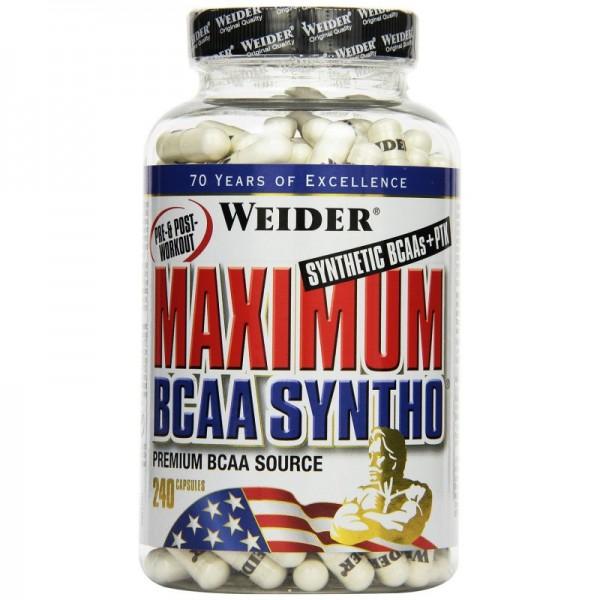 Weider Maximum BCAA Syntho + PTK 240 Kapseln
