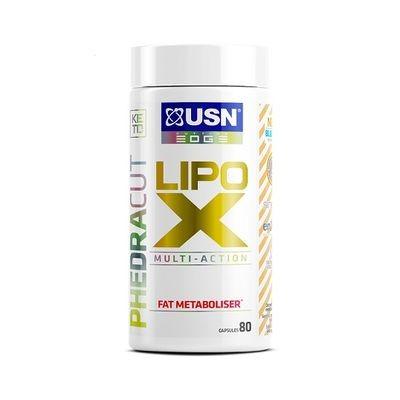 USN PhedraCut Lipo X Fat Metaboliser 80 Kapseln