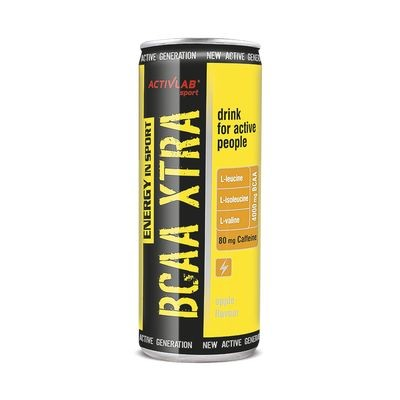 Activlab BCAA Xtra drink + Caffeine (24*250ml) - MEGASALE