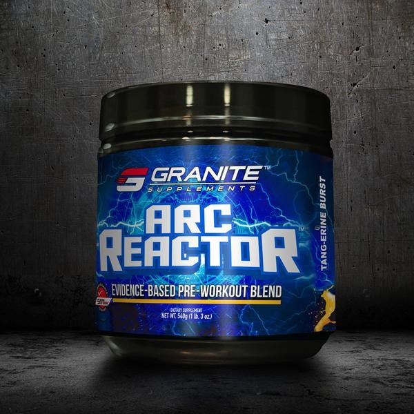 Granite Arc Reactor 540g - 20 Servings (Pre-workout)