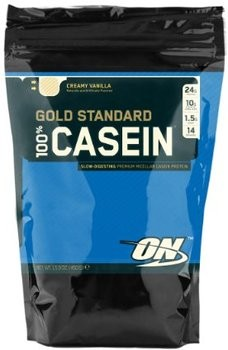 Optimum Nutrition 100% Casein Protein Bag 450g