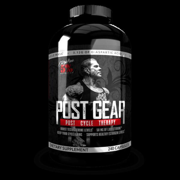 5% NUTRITION Post Gear 240 Kapseln - PCT Produkt by RIch Piana