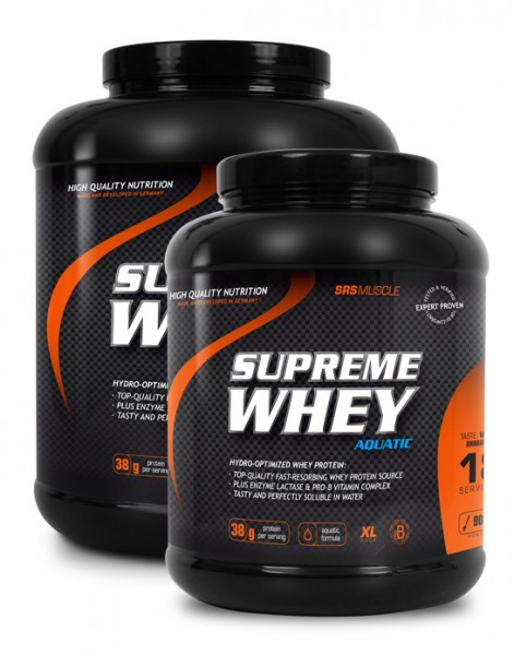 SRS-Muscle SUPREME WHEY 900g