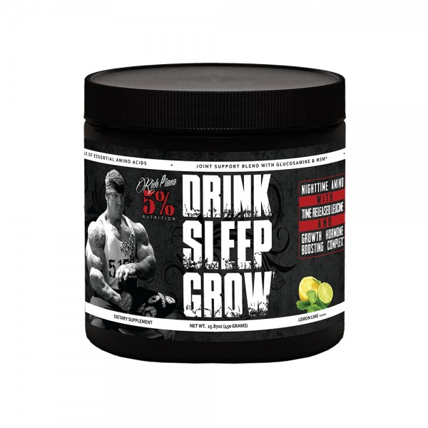 5% Nutrition Drink Sleep Grow Night Time Aminos 450g