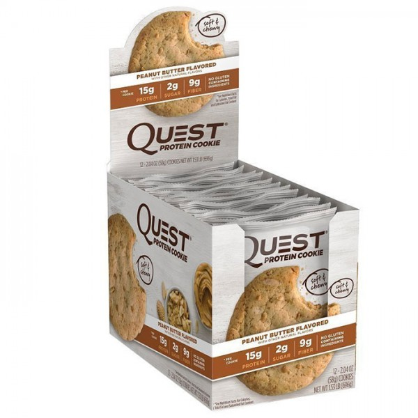 Quest Nutrition Quest Protein Cookie 12 x 58g
