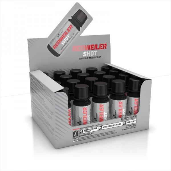 Olimp Redweiler Shot 20x60ml - Booster Shots