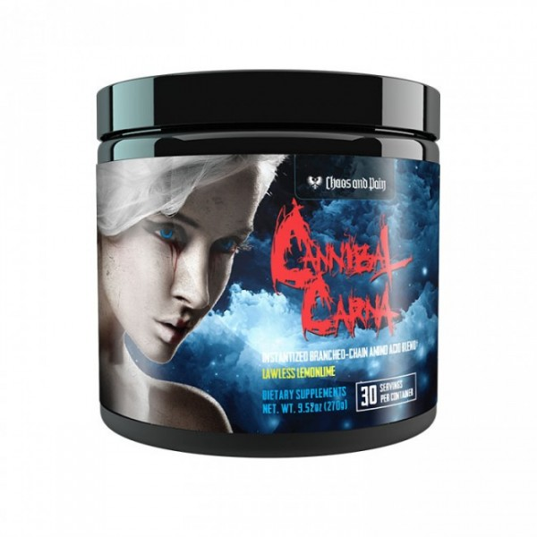 Chaos and Pain Cannibal Carna BCAA 270g - 30 Servings BCAA 8:1:1