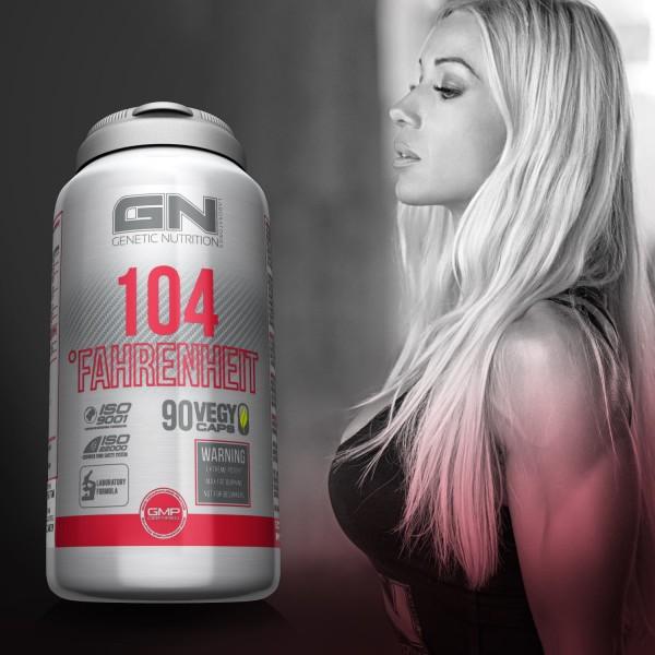 GN Laboratories 104 Fahrenheit 90 Kapseln