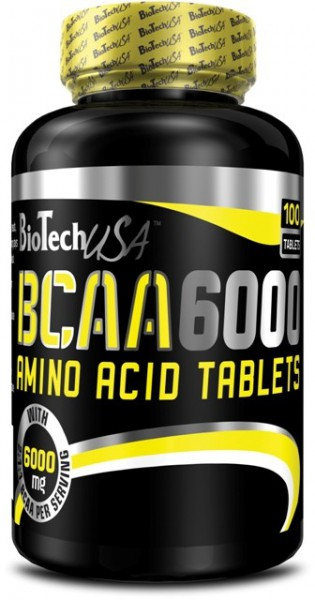 Biotech USA BCAA 6000 100 Tabletten