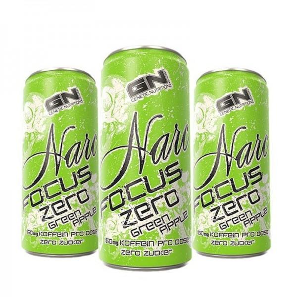 GN Laboratories Narc Focus ZERO Drink - 24x 250ml ohne Pfand