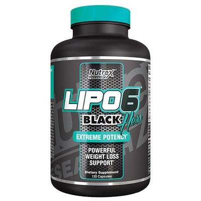 Nutrex Lipo 6 Black Hers 60 UC Kapseln - US VERSION