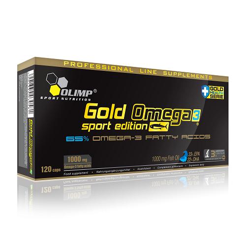 Olimp Gold Omega 3 Sport Edition - 120 Kapseln
