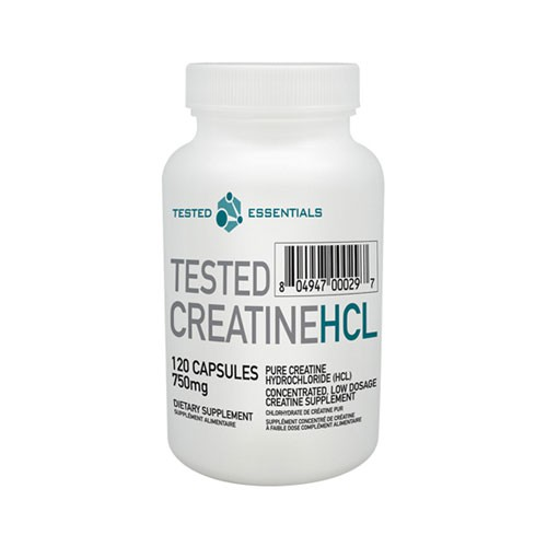 Tested Nutrition Creatine Con-Centrated HCL 120 Kapseln