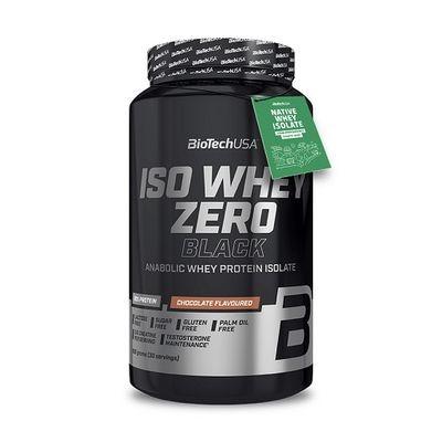 BioTech USA Iso Whey Zero Black Protein 908g & 2270g