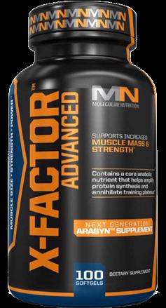 Molecular Nutrition X-Factor Advanced 100 Kapseln