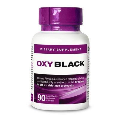 Blackline Oxy Elite Black Fatburner 90 Kapseln