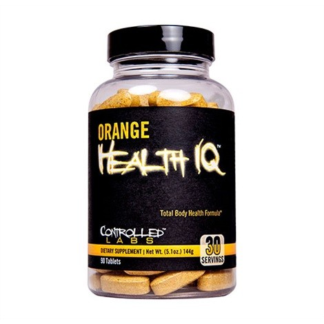 Controlled Labs Orange Health IQ 90 Tabletten